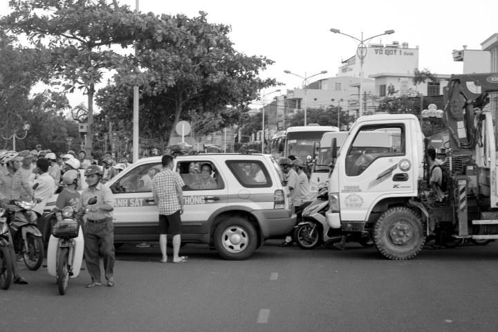 traffic jam nha trang